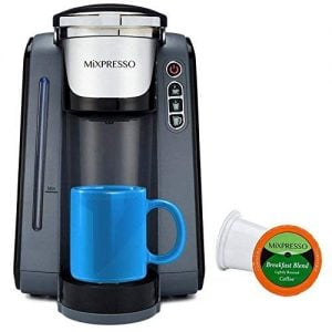Mixpresso Single-Serve K-Cup Coffee Maker