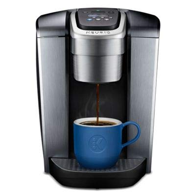 Keurig K-Elite Single-Serve K-Cup Pod Coffee Maker, with Strong Temperature Control, Iced Coffee Capability, 12oz Brew Size, Programmable, Brushed Slate