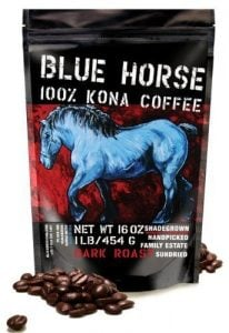 Dark Roast, Blue Horse Kona Coffee