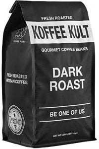 Dark Roast Koffee Kult Coffee