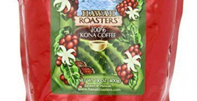 Medium Roast, Hawaii Roasters Kona Coffee