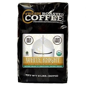 White Knight Light Organic Roast Coffee
