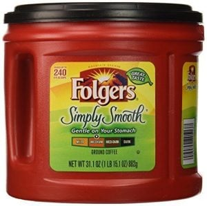Medium Roast, Folgers Simply Smooth Ground Coffee