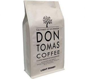 Don Tomas Nicaraguan Beans - Light Roast