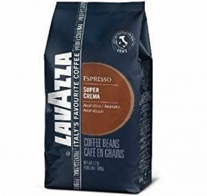 Lavazza Super Crema Whole Bean Coffee Blend, Medium Espresso Roast