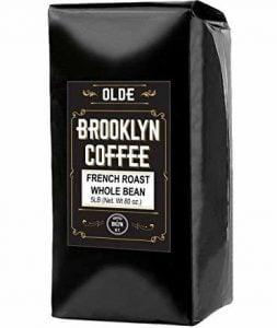 Olde Brooklyn Coffee French Roast Whole Bean