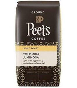 Peet's , Colombia Luminosa, Light Roast